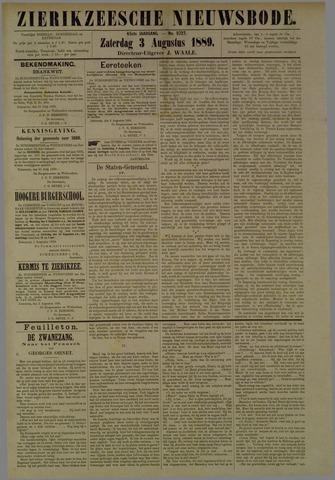 Zierikzeesche Nieuwsbode 1889-08-03