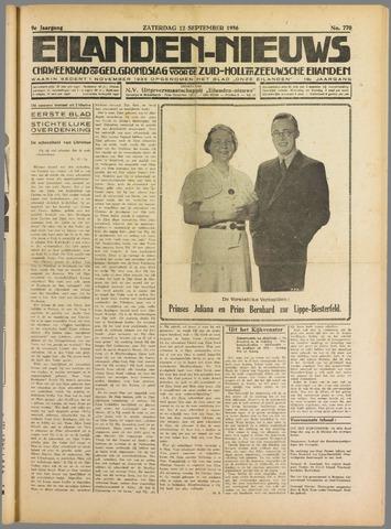 Eilanden-nieuws. Christelijk streekblad op gereformeerde grondslag 1936-09-12
