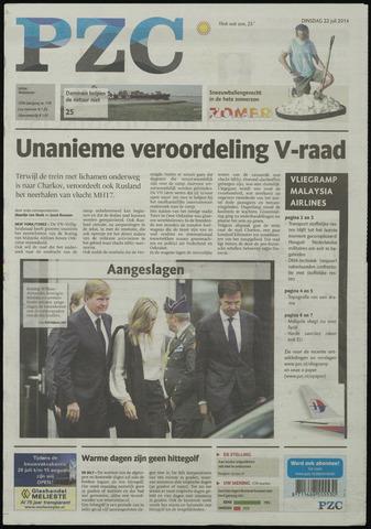 Provinciale Zeeuwse Courant 2014-07-22