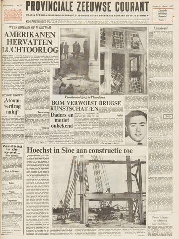 Provinciale Zeeuwse Courant 1967-02-14