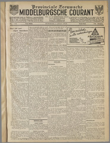 Middelburgsche Courant 1930-07-01