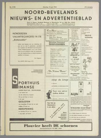 Noord-Bevelands Nieuws- en advertentieblad 1964-06-13