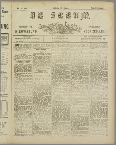 De Zeeuw. Christelijk-historisch nieuwsblad voor Zeeland 1898-01-20