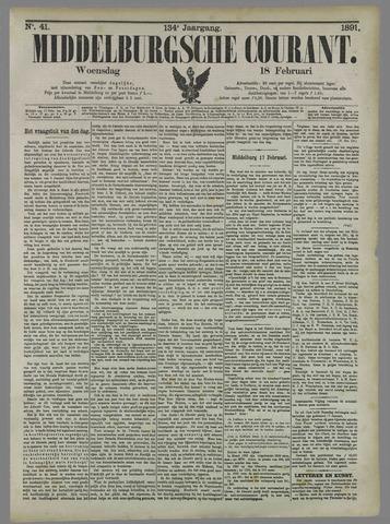 Middelburgsche Courant 1891-02-18