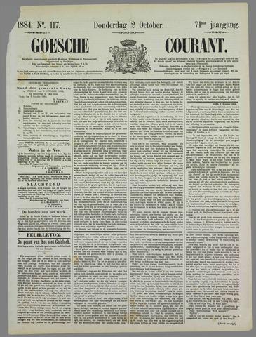 Goessche Courant 1884-10-02