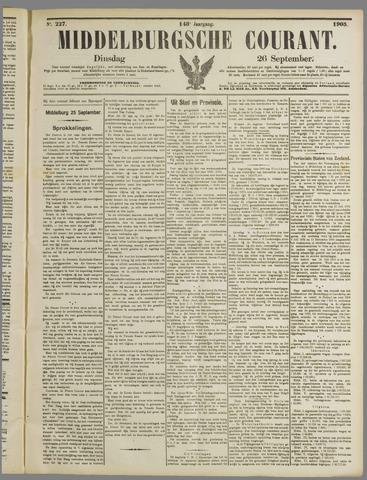 Middelburgsche Courant 1905-09-26