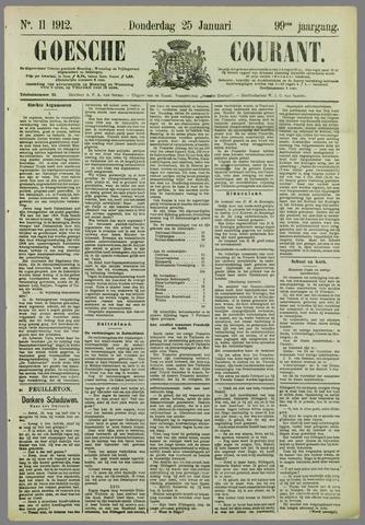 Goessche Courant 1912-01-25