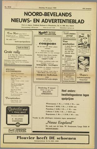 Noord-Bevelands Nieuws- en advertentieblad 1959-01-10