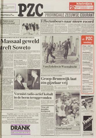 Provinciale Zeeuwse Courant 1986-09-05