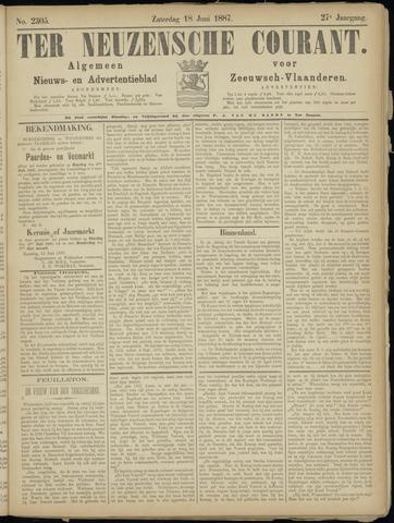 Ter Neuzensche Courant. Algemeen Nieuws- en Advertentieblad voor Zeeuwsch-Vlaanderen / Neuzensche Courant ... (idem) / (Algemeen) nieuws en advertentieblad voor Zeeuwsch-Vlaanderen 1887-06-18