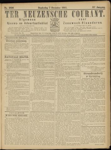 Ter Neuzensche Courant. Algemeen Nieuws- en Advertentieblad voor Zeeuwsch-Vlaanderen / Neuzensche Courant ... (idem) / (Algemeen) nieuws en advertentieblad voor Zeeuwsch-Vlaanderen 1911-12-07