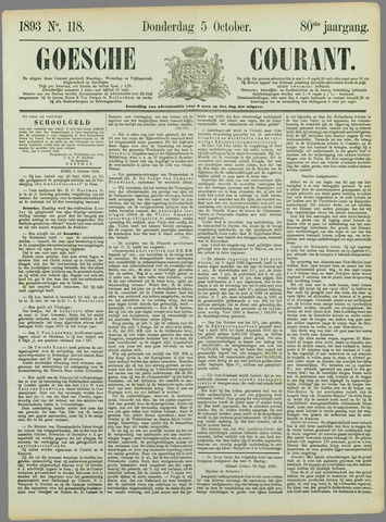 Goessche Courant 1893-10-05