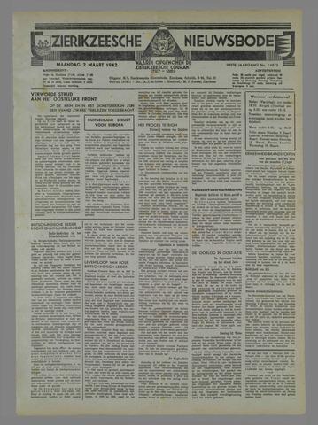 Zierikzeesche Nieuwsbode 1942-03-02