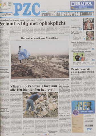 Provinciale Zeeuwse Courant 2005-08-17