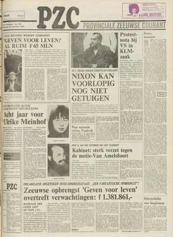 Provinciale Zeeuwse Courant 1974-11-30