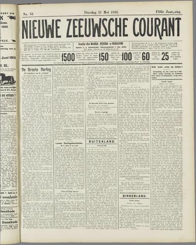 Nieuwe Zeeuwsche Courant 1915-05-11
