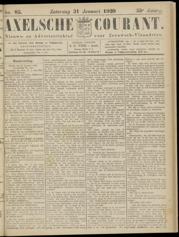 Axelsche Courant 1920-01-31