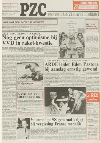 Provinciale Zeeuwse Courant 1984-06-01