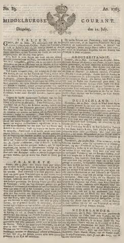 Middelburgsche Courant 1763-07-12