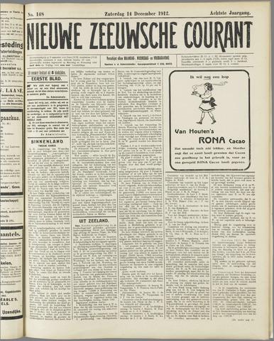 Nieuwe Zeeuwsche Courant 1912-12-14
