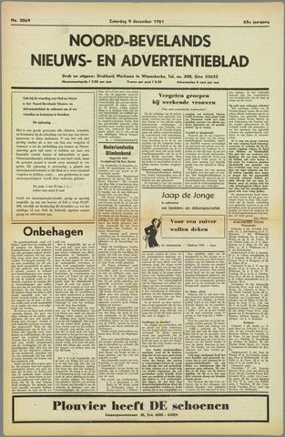 Noord-Bevelands Nieuws- en advertentieblad 1961-12-09