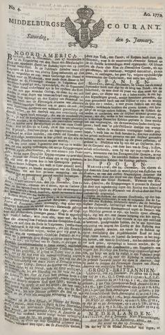 Middelburgsche Courant 1779-01-09