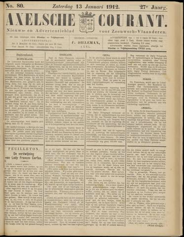 Axelsche Courant 1912-01-13