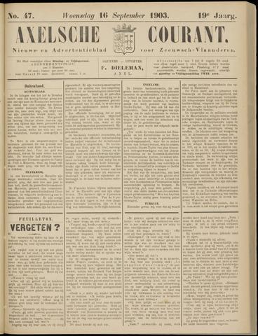 Axelsche Courant 1903-09-16