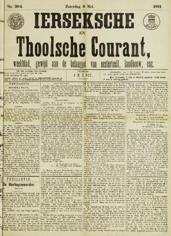 Ierseksche en Thoolsche Courant 1891-05-09