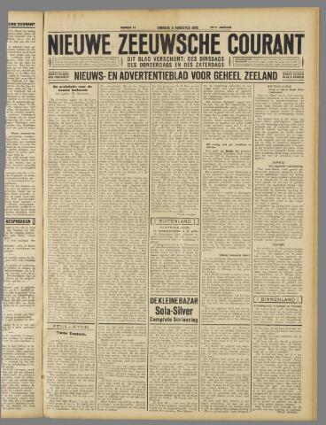 Nieuwe Zeeuwsche Courant 1932-08-09