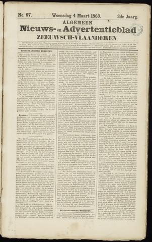 Ter Neuzensche Courant. Algemeen Nieuws- en Advertentieblad voor Zeeuwsch-Vlaanderen / Neuzensche Courant ... (idem) / (Algemeen) nieuws en advertentieblad voor Zeeuwsch-Vlaanderen 1863-03-04