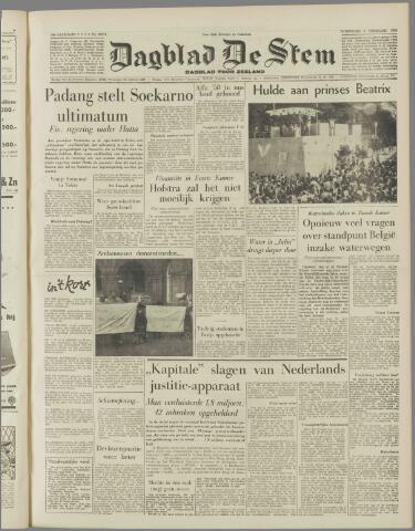 de Stem 1958-02-05