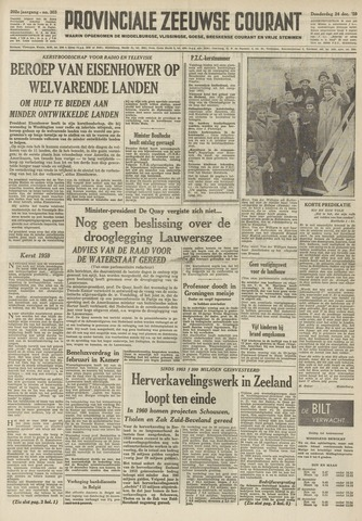 Provinciale Zeeuwse Courant 1959-12-24
