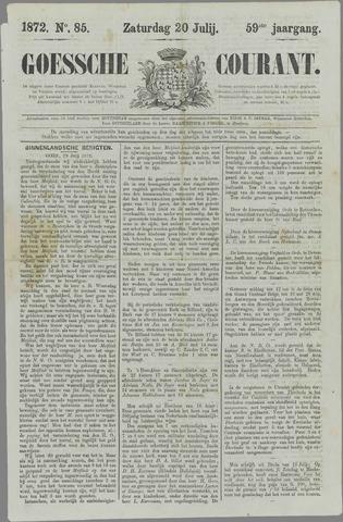 Goessche Courant 1872-07-20