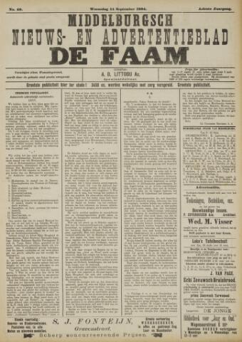 de Faam en de Faam/de Vlissinger 1904-09-14