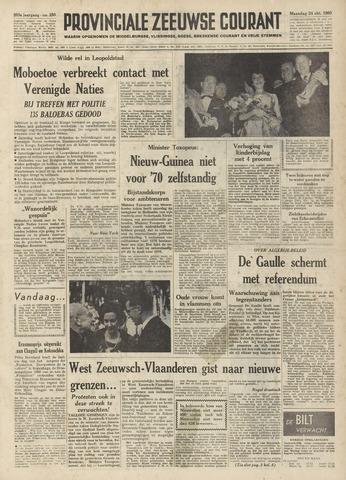 Provinciale Zeeuwse Courant 1960-10-24