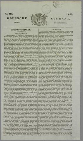 Goessche Courant 1840-11-20