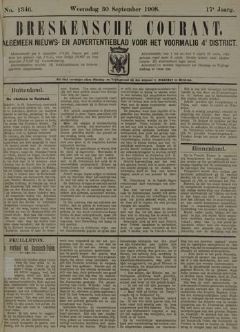 Breskensche Courant 1908-09-30