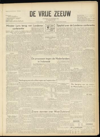 de Vrije Zeeuw 1956-08-27