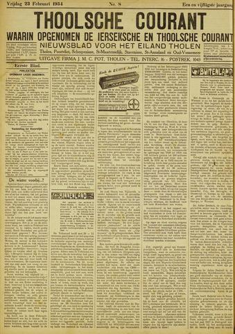 Ierseksche en Thoolsche Courant 1934-02-23