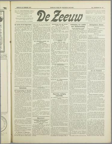 De Zeeuw. Christelijk-historisch nieuwsblad voor Zeeland 1937-02-23