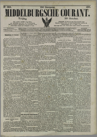 Middelburgsche Courant 1891-10-30