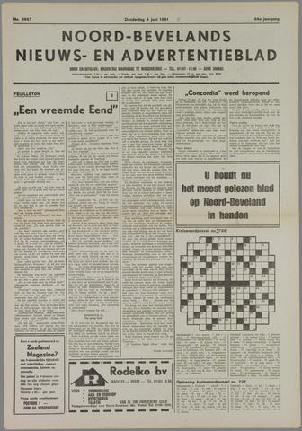 Noord-Bevelands Nieuws- en advertentieblad 1981-06-04