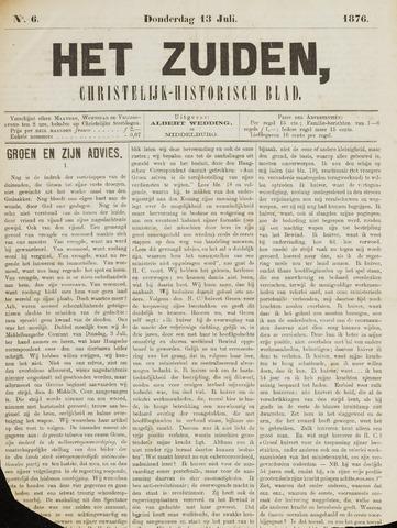Het Zuiden, Christelijk-historisch blad 1876-07-13