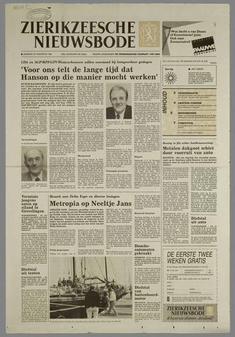 Zierikzeesche Nieuwsbode 1991-08-20