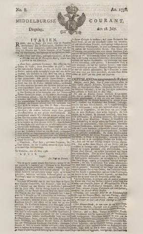 Middelburgsche Courant 1758-07-18