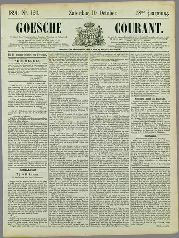 Goessche Courant 1891-10-10