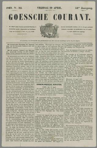 Goessche Courant 1867-04-19