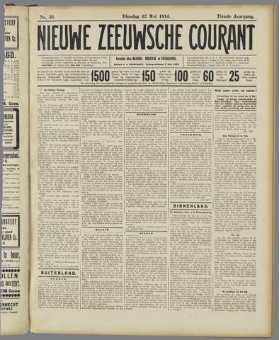 Nieuwe Zeeuwsche Courant 1914-05-12