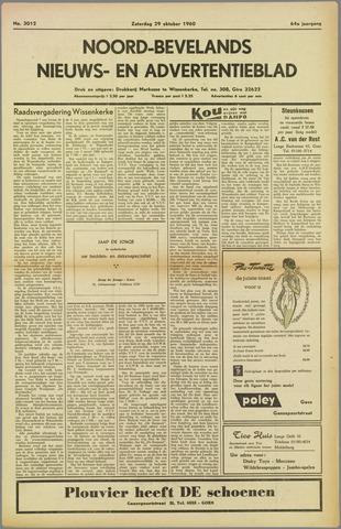 Noord-Bevelands Nieuws- en advertentieblad 1960-10-29